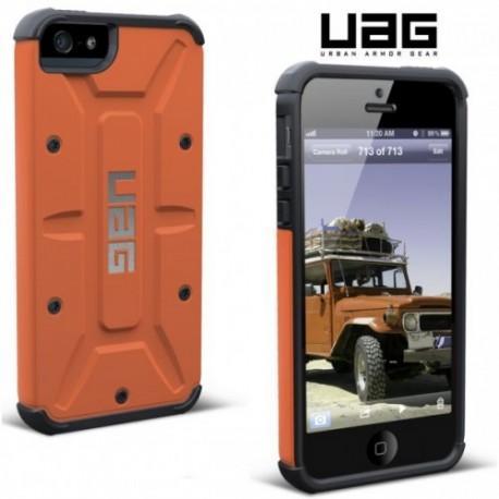 Etui za Apple iPhone 5/5S Urban Armor Gear+Folija ekrana, Rust-Black