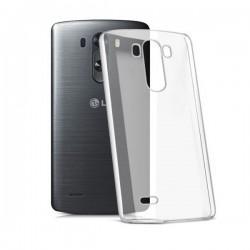 Silikon etui za LG G3 +Folija ekrana TPU 0,3mm Transparent barva