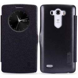 Torbica Nillkin za LG G3 Preklopna S-View Črna barva