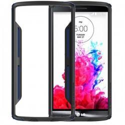 Slim Armor Bumper za LG G3 +Folija ekrana Modra barva