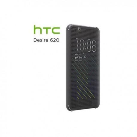 Torbica za HTC Desire 620 Preklopna Temno siva barva Original HTC HC M140