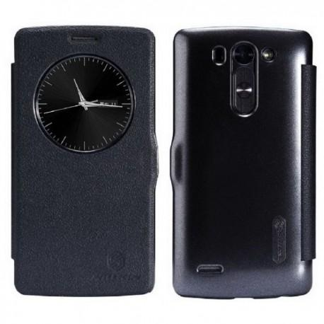 Preklopna Torbica za LG G3 S S-View Črna barva