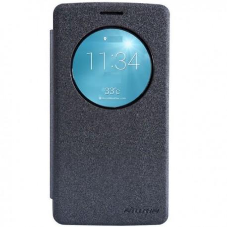Preklopna Torbica za LG G3 S S-View Temno siva barva