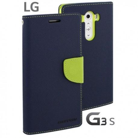 Preklopna Torbica za LG G3 S Modra Limona barva