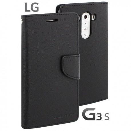 Preklopna Torbica za LG G3 S Črna barva