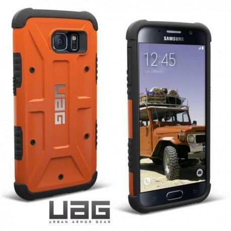 Etui za Samsung Galaxy S6 Urban Armor Gear+Folija ekrana Rust-Black