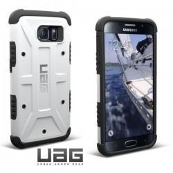 Etui za Samsung Galaxy S6 Urban Armor Gear+Folija ekrana White-Black