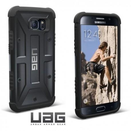 Etui za Samsung Galaxy S6 Urban Armor Gear+Folija ekrana Black-Black