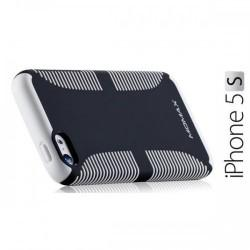 iCase Jack za Apple iPhone 5/5S ,zadnji pokrovček Črna barva+Folija