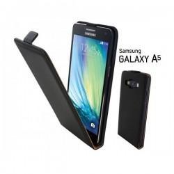 Preklopna Torbica za Samsung Galaxy A5 + Zaščitna folija ekrana Črna barva