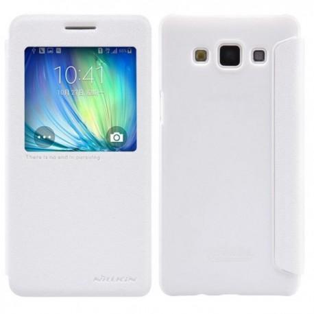 Preklopna Torbica USAMS za Samsung Galaxy A5 S-View Bela barva