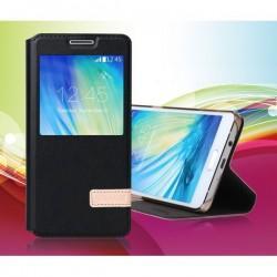 Preklopna Torbica USAMS za Samsung Galaxy A5 S-View Črna barva