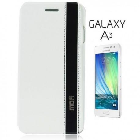 Preklopna Torbica Mofi za Samsung Galaxy A3 Bela barva