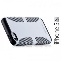 iCase Jack za Apple iPhone 5/5S ,zadnji pokrovček Bela barva+Folija