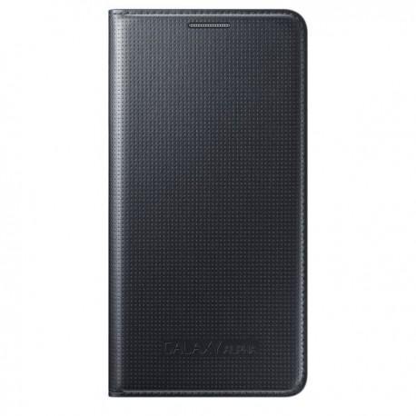 Torbica za Samsung Galaxy Alpha Original Flip Cover EF-FG850BBEGWW Črna barva