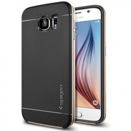 Spigen Etui za Samsung Galaxy S6 Neo Hybrid zadnji pokrovček Spigen Champagne Gold