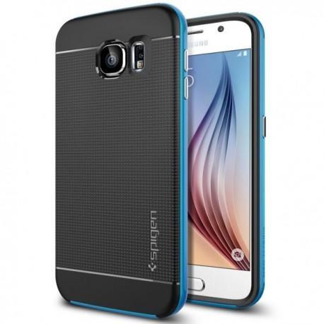 Spigen Etui za Samsung Galaxy S6 Neo Hybrid zadnji pokrovček Spigen Electric Blue