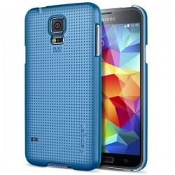 Etui za Samsung Galaxy S5 Ultra Fit zadnji pokrovček Spigen Electric Blue