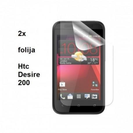Zaščitna Folija ekrana za HTC Desire 200,Duo Pack