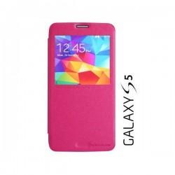 Torbica za Samsung Galaxy S5 S-View Nillkin Pink barva