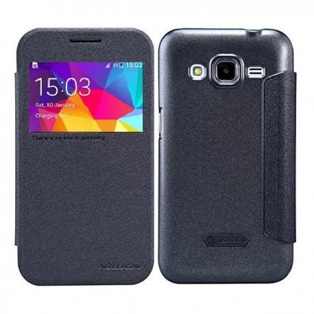 Preklopna Torbica Nillkin za Samsung Galaxy Core Prime S-View Temno siva barva