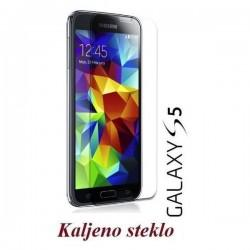 Zaščitno kaljeno steklo za Samsung Galaxy S5 Trdota 9H 0,3 mm Premium