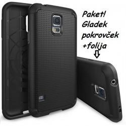 Etui za Samsung Galaxy S5 Ringke Slim Armor Black