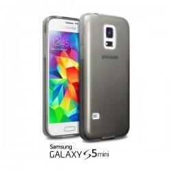 Silikon Etui Jekod za Samsung Galaxy S5 Mini + zaščitna folija ekrana Prozorno temna barva