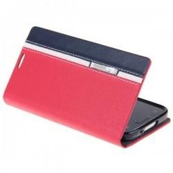 Preklopna Torbica MuteCase za Samsung Galaxy S5 Mini Rdeča barva