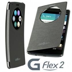 Torbicai za LG G Flex2 Quick Circle Flip Titan barva CCF-620