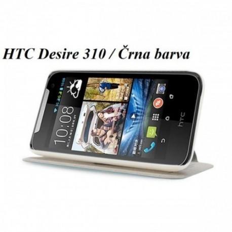 Torbica za HTC Desire 310 Preklopna Črna barva