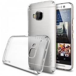 Etui za HTC One M9 Ringke Slim Crystal Clear priložena folija ekrana