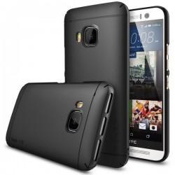 Etui za HTC One M9 Ringke Slim Black Črna barva priložena folija ekrana