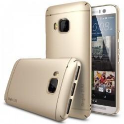 Etui za HTC One M9 Ringke Slim Royal Gold barva priložena folija ekrana