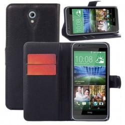 Preklopna Torbica za HTC Desire 620 Črna barva