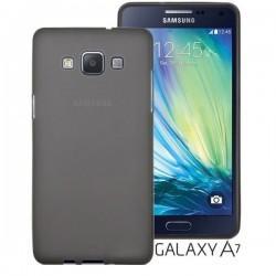 Silikon etui Jekod za Samsung Galaxy A7 Priložena Folija ekrana TPU Prozorno Temna barva