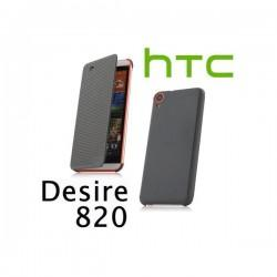 Torbica za HTC Desire 820 HTC HC M150 Dot Flip Temno Siva barva