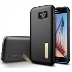Etui Spigen za Samsung Galaxy S6 Capsule Solid Črna Barva