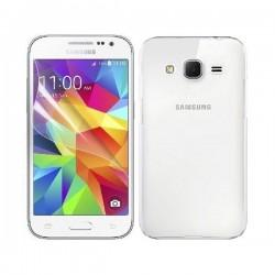 Silikon etui za Samsung Galaxy Core Prime G360 TPU 0,3mm Transparent barva+folija ekrana
