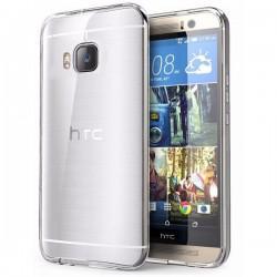 Silikon etui za HTC One M9 TPU 0,3mm Prozorna barva