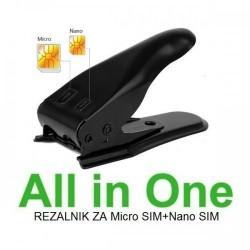 NANO SIM & MICRO SIM Cutter Rezalnik All in One