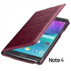 Torbica za Samsung Galaxy Note 4 Original Flip Cover EF-WN910BRE Rdeča barva