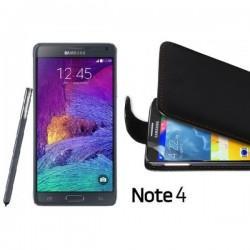 Preklopna Torbica za Samsung Galaxy Note 4+folija ekrana Črna barva