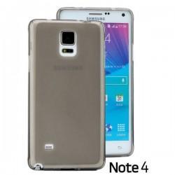 Silikon etui za Samsung Galaxy Note 4 +Folija ekrana Temna barva