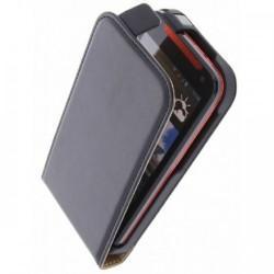 Torbica za HTC Desire 310 Preklopna+ zaščitna folija ekrana, Črna barva
