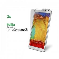 Zaščitna Folija ekrana za Samsung Galaxy Note 3 Duo Pack