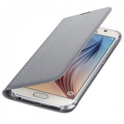 Etui za Samsung Galaxy S6 Original EF-WG920BS Srebrna Gratis Folija