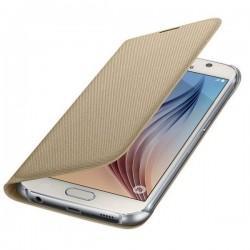 Etui za Samsung Galaxy S6 Original EF-WG920BF Zlata Gratis Folija