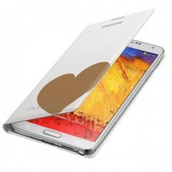 Torbica za Samsung Galaxy Note 3 EF-EN900 Moschino Bela barva