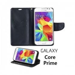 Torbica Fancy za Samsung Galaxy Core Prime Črna barva